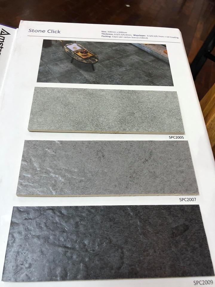 Sàn vinyl giả đá Amstrong