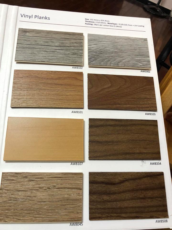 Gạch vinyl vân gỗ Amstrong