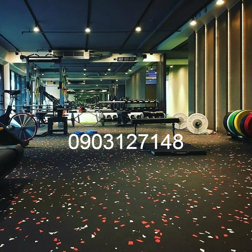 thảm cao su phòng gym hcm