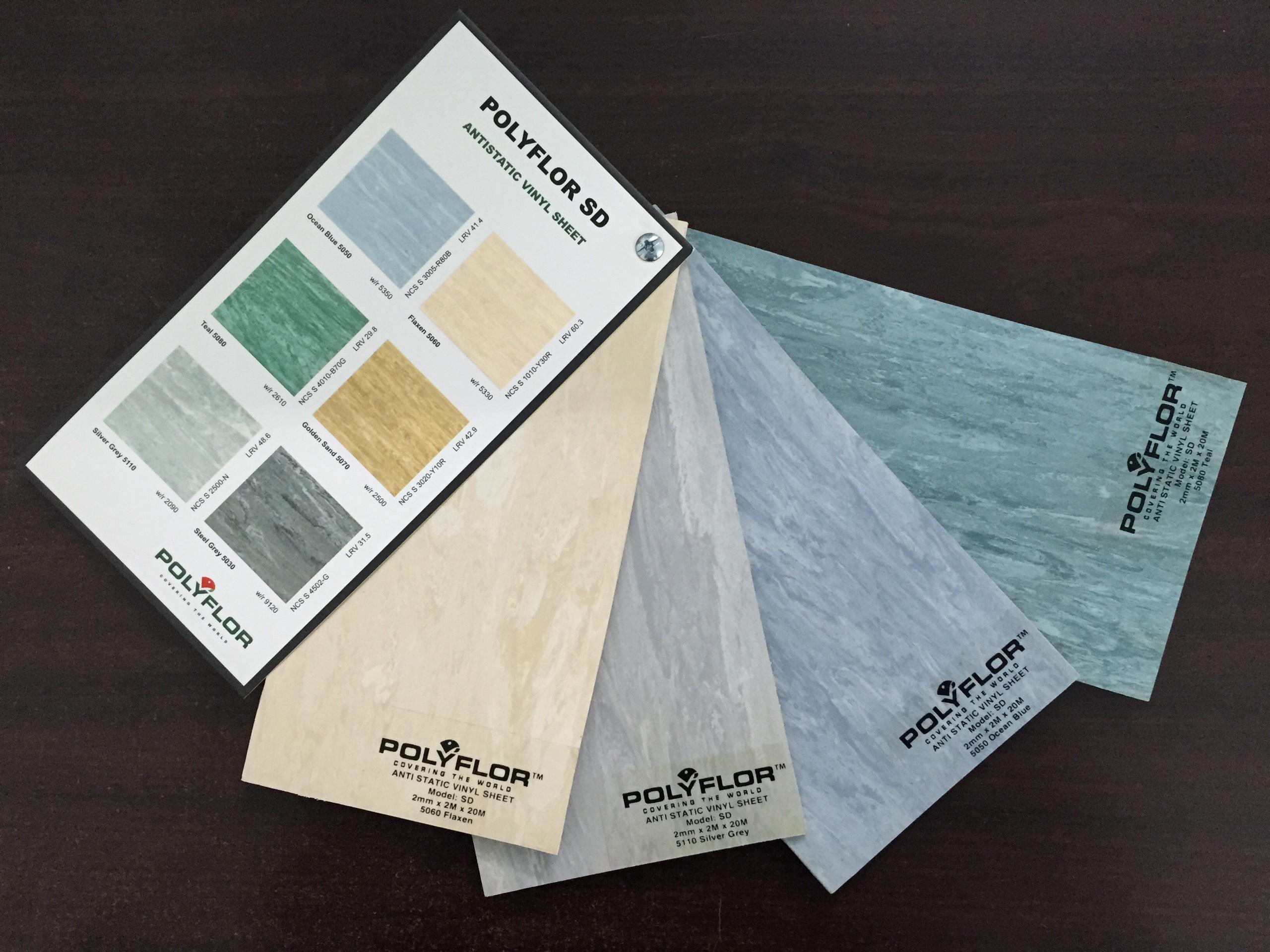 Sàn vinyl chống tĩnh điện kháng khuẩn