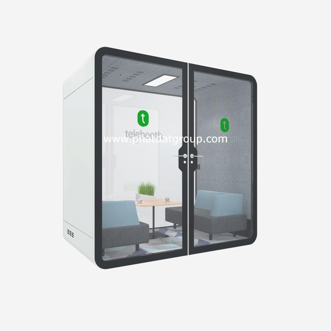 Hệ thống phonebooth cao cấp cho văn phòng, tòa nhà. Hotline: 0903127148 (Zalo/Viber)