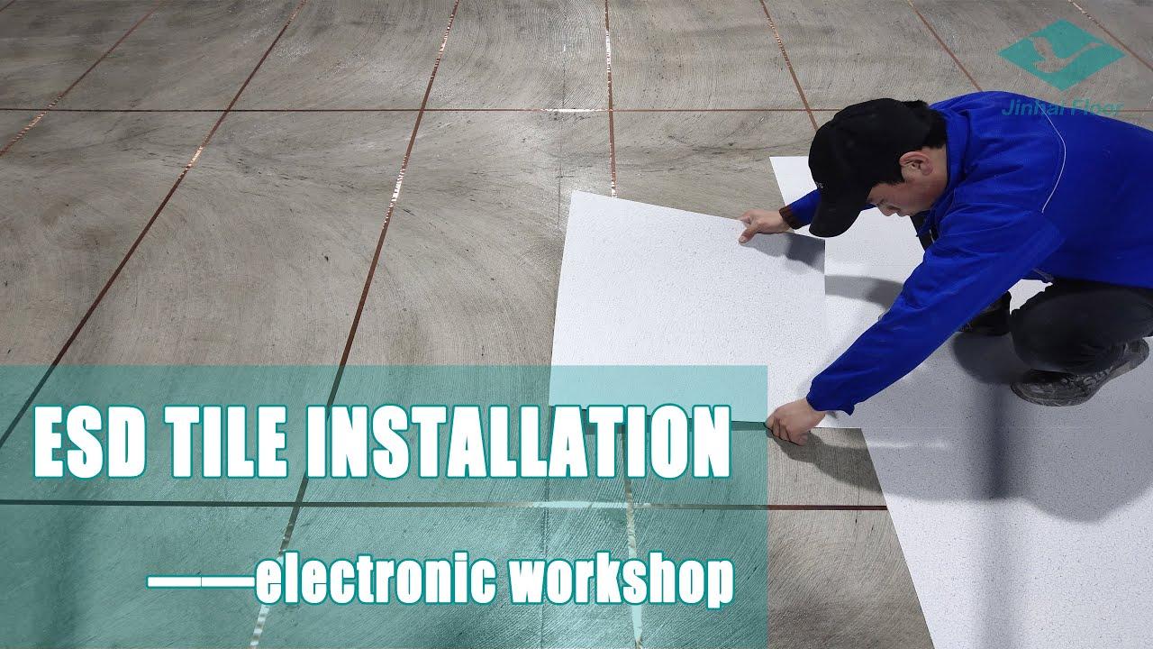 Sàn vinyl chống tĩnh điện esd tile nhà xưởng. Hotline: 0903127148 (Zalo/Viber)